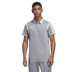 ביגוד אדידס לגברים Adidas TIRO 19  - אפור בהיר