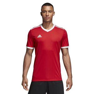 חולצת אימון אדידס לגברים Adidas Tabela 18  - אדום