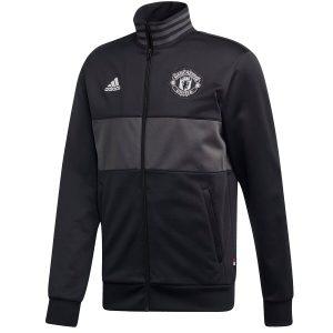 ביגוד קבוצות אדידס לגברים Adidas Manchester FC 3S TRK TOP - שחור