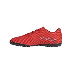 נעליים אדידס לגברים Adidas   Nemeziz 19.4 TF  - אדום