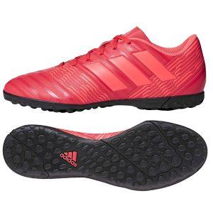 נעליים אדידס לגברים Adidas   Nemeziz Tango 17.4 TF  - אדום יין