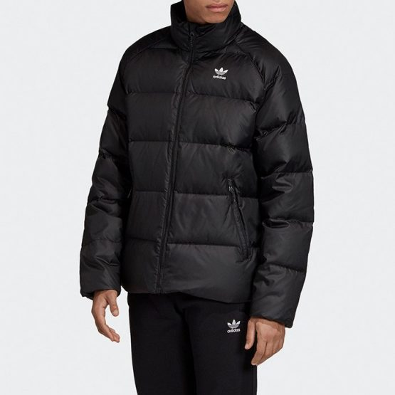 ביגוד Adidas Originals לגברים Adidas Originals Jacket Down - שחור