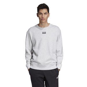 ביגוד Adidas Originals לגברים Adidas Originals R.Y.V. Crew - לבן