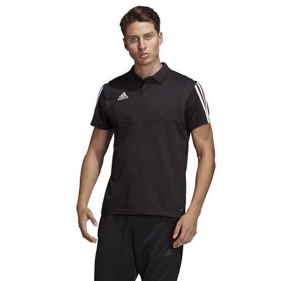ביגוד אדידס לגברים Adidas Polo  TIRO 19 - שחור