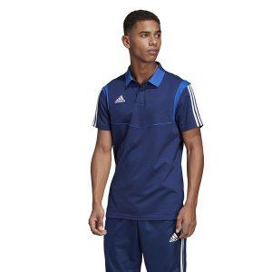 ביגוד אדידס לגברים Adidas Polo  TIRO 19 - כחול