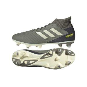 נעליים אדידס לגברים Adidas   Predator 19.3 SG  - אפור