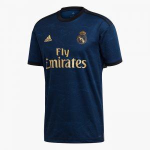 ביגוד קבוצות אדידס לגברים Adidas REAL MADRID AWAY - כחול כהה