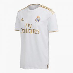 ביגוד קבוצות אדידס לגברים Adidas REAL MADRID HOME - לבן
