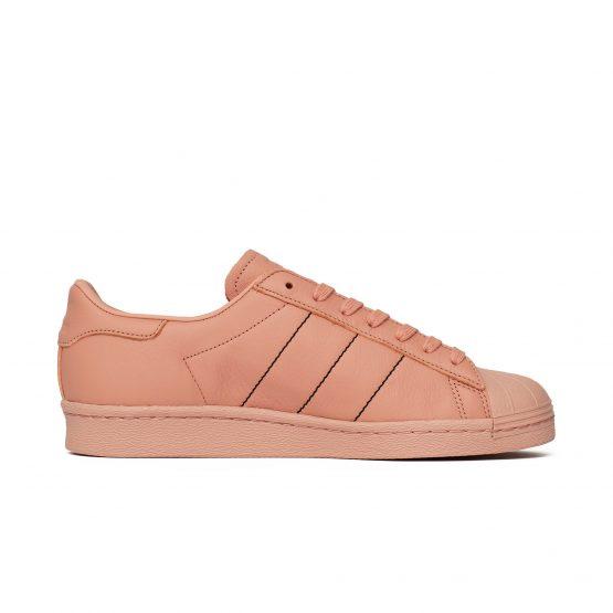 נעליים אדידס לגברים Adidas  SUPERSTAR 80S - ורוד בהיר