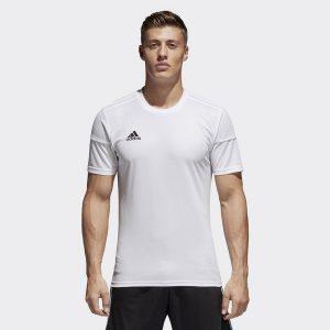 ביגוד אדידס לגברים Adidas Squadra 17  - לבן מלא