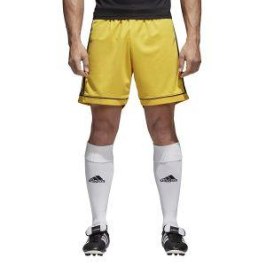 מכנס ספורט אדידס לגברים Adidas Squadra 17 - צהוב