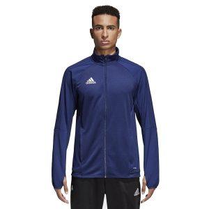 ביגוד אדידס לגברים Adidas TIRO 17 TRG JKT - כחול