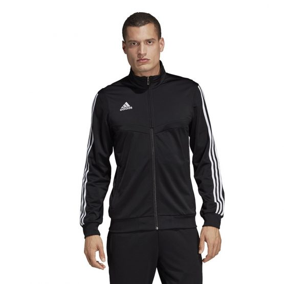 ביגוד אדידס לגברים Adidas TIRO 19 PES JKT - שחור