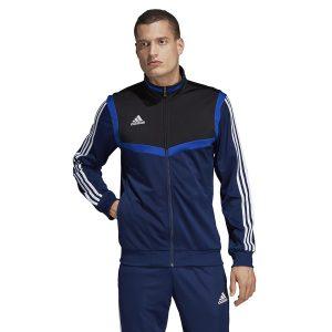 ביגוד אדידס לגברים Adidas TIRO 19 PES JKT - כחול
