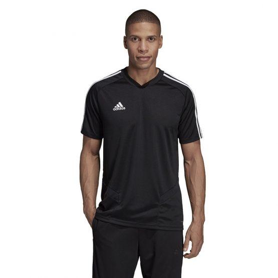 ביגוד אדידס לגברים Adidas TIRO 19 TR JSY DT - שחור