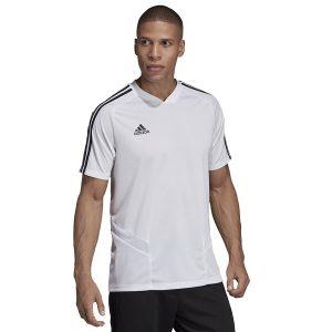 ביגוד אדידס לגברים Adidas TIRO 19 TR JSY - לבן