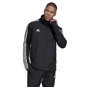 ביגוד אדידס לגברים Adidas TIRO 19 Warm Top - שחור
