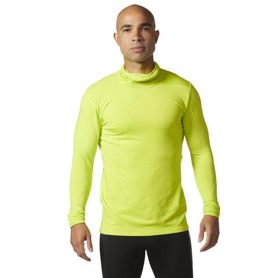 ביגוד אדידס לגברים Adidas TKO LS TEE M - צהוב