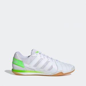 נעלי סניקרס אדידס לגברים Adidas TOP SALA IN - לבן/ירוק