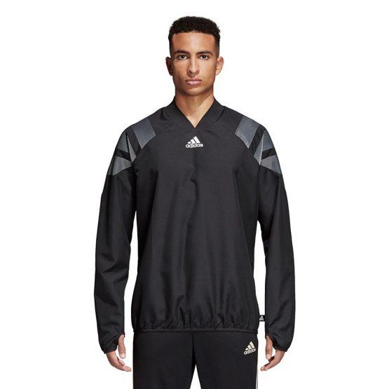ביגוד אדידס לגברים Adidas Tango HYB TOP - שחור