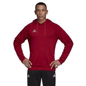 ביגוד אדידס לגברים Adidas Tango Sweat Hoody - אדום