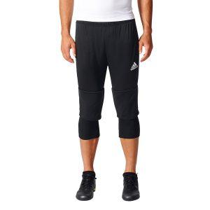 ביגוד אדידס לגברים Adidas Tiro 17 3/4 Pant - שחור