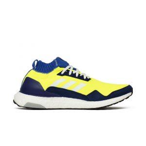 נעליים אדידס לגברים Adidas  ULTRA BOOST MID - צהוב