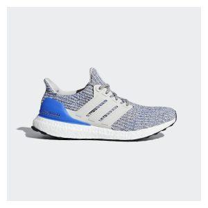 נעליים אדידס לגברים Adidas UltraBoost - אפור/כחול