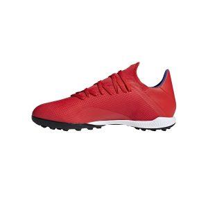 נעליים אדידס לגברים Adidas   X 18.3 TF  - אדום יין