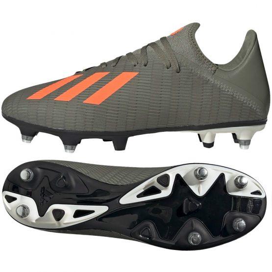 נעליים אדידס לגברים Adidas   X 19.3 SG  - אפור