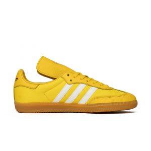 נעליים אדידס לגברים Adidas X OYSTER HOLDINGS SAMBA OG - צהוב