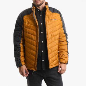 ביגוד קולומביה לגברים Columbia Horizon Explorer Hooded Jacket - שחור/כתום