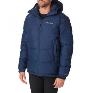 ביגוד קולומביה לגברים Columbia Pike Lake Hooded Jacket - כחול