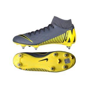 נעליים נייק לגברים Nike   Mercurial Superfly 6 Academy SG  - אפור/צהוב