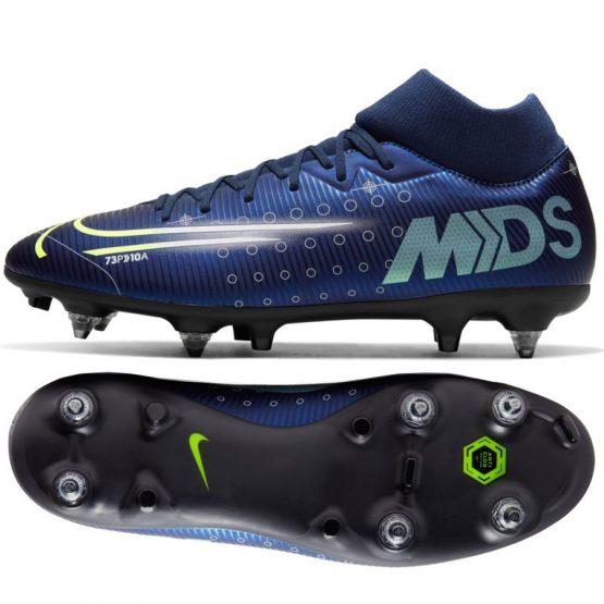 נעליים נייק לגברים Nike   Mercurial Superfly 7 Academy MDS SG PRO AC  - כחול