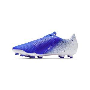 נעליים נייק לגברים Nike   Phantom Venom Academy FG  - לבן/ כחול