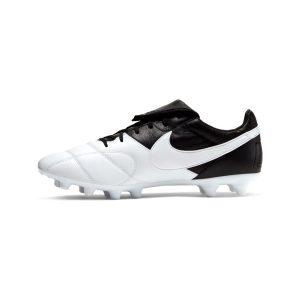 נעליים נייק לגברים Nike   The  Premier II FG  - שחור/לבן