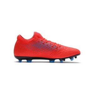 נעליים פומה לגברים PUMA   FUTURE 19.4 FG AG  - אדום