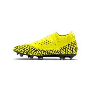 נעליים פומה לגברים PUMA   Future 4.2 Netfit FG AG  - צהוב