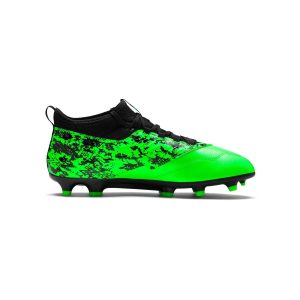 נעליים פומה לגברים PUMA   ONE 19.3 FG AG  - שחור/ירוק