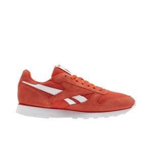 נעליים ריבוק לגברים Reebok Classic Leather MU - אדום