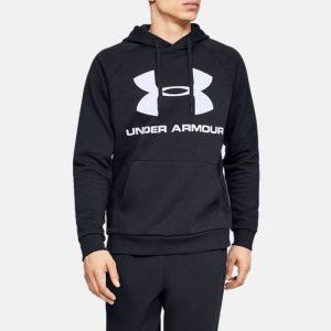 ביגוד אנדר ארמור לגברים Under Armour Rival Fleece Logo - שחור
