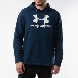 ביגוד אנדר ארמור לגברים Under Armour Sportstyle Terry Logo - כחול