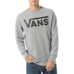 ביגוד ואנס לגברים Vans Classic Crew II - אפור