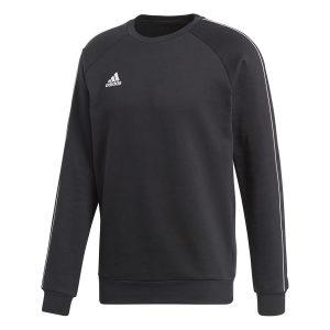 ביגוד אדידס לגברים Adidas CORE 18 SWEAT TOP - שחור