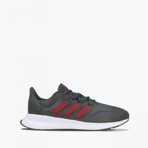 נעליים אדידס לגברים Adidas RUNFALCON - אפור/אדום