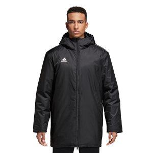 ג'קט ומעיל אדידס לגברים Adidas Core 18 STD JKT - שחור מלא