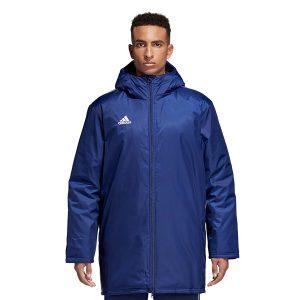 ביגוד אדידס לגברים Adidas Core 18 STD JKT - כחול כהה