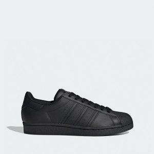 נעלי סניקרס אדידס לגברים Adidas Originals Superstar - שחור