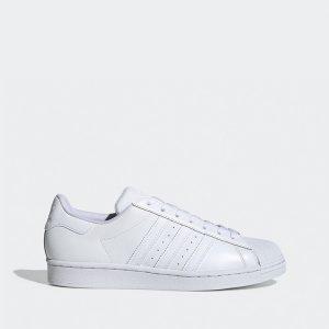 נעלי סניקרס אדידס לגברים Adidas Originals Superstar - לבן